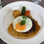 老舗洋食屋でちょっと贅沢ハンバーグ!「黒船亭」上野
